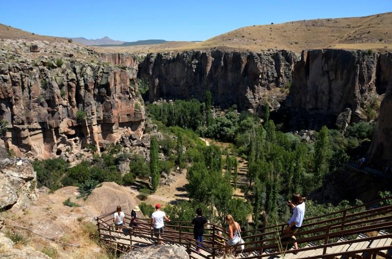 vale ihlara - Tour Verde - Capadócia - turquia