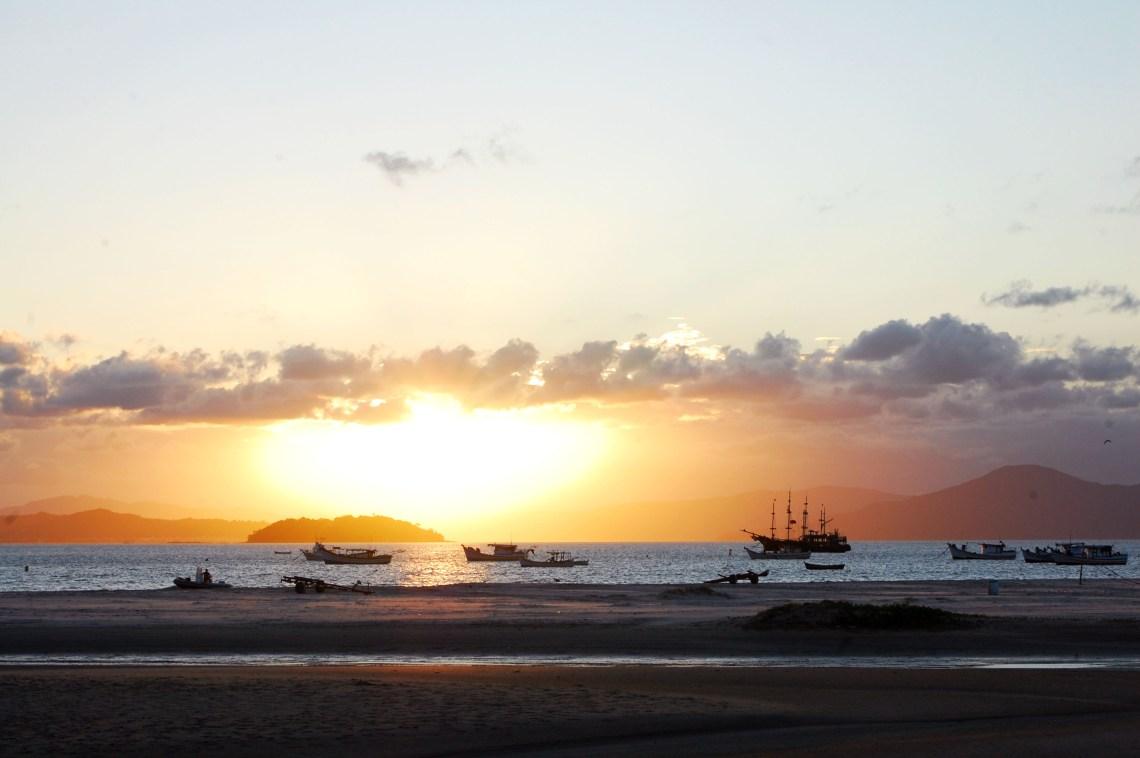 Pôr do sol em Ponta das Canas