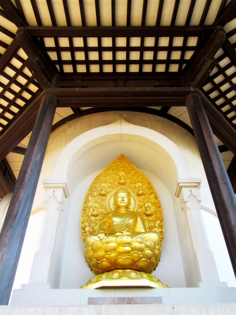 Monumento budista Peace Pagoda, Battersea Park