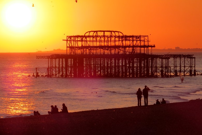Pôr do Sol - Brighton