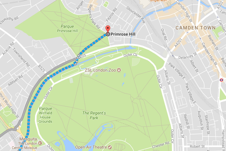 Roteiro Londres - Primrose Hill