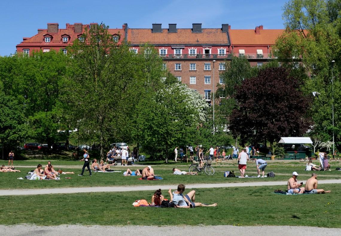 Parque Rålambshovsparken Estocolmo, Suécia