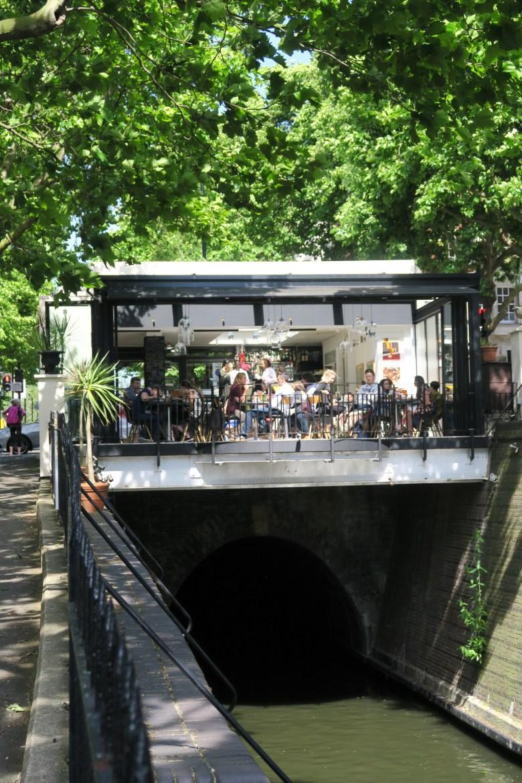 cafe laville, Little Venice, Londres