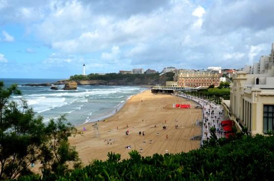 Praia Grande Plage, Biarritz, França
