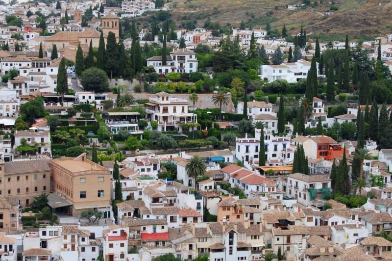 forte alcazaba - Alhambra - granada - espanha - andaluzia