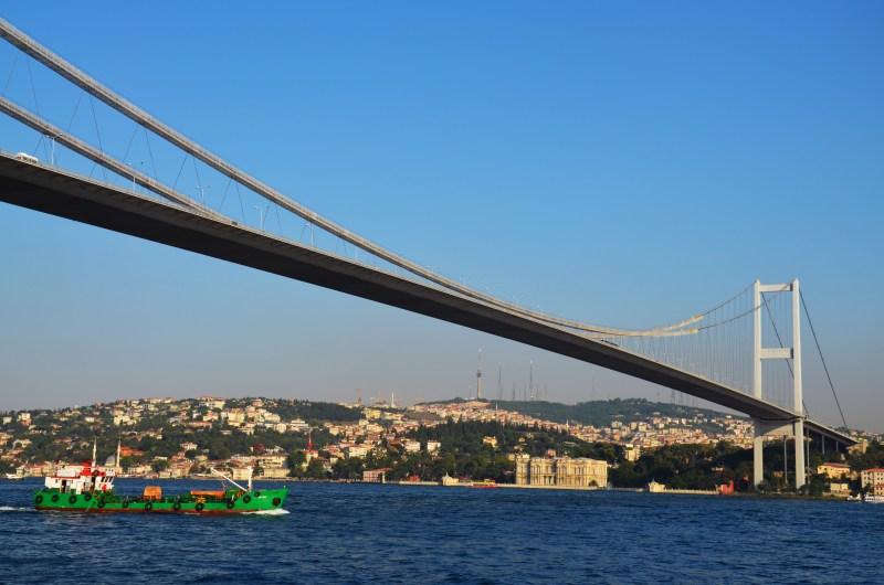 passeio de barco bosforo-istambul-turquia