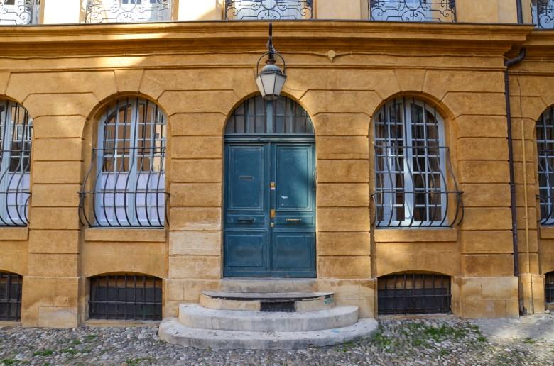 Place D'Albertas - Aix en Provence - frança - cote-dazur