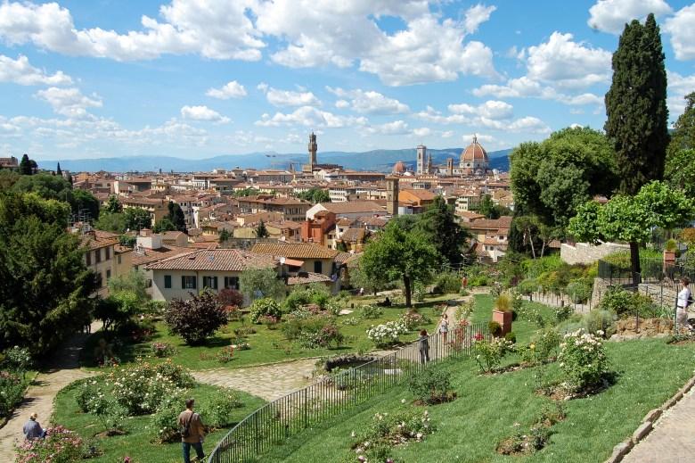 giardino delle rose - florença - italia - toscana