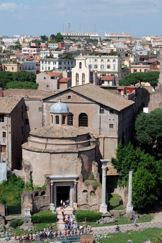 foro romano - roma - itália - pontos turísticos