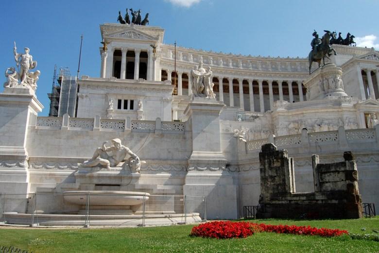 Monumento a Vítor Emanuel II - roma - pontos turísticos - itália