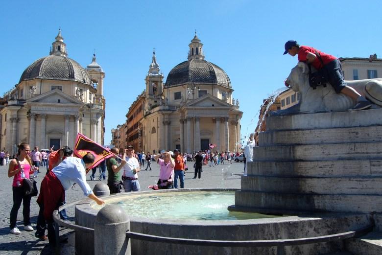 piazza del popolo - roma - pontos turísticos