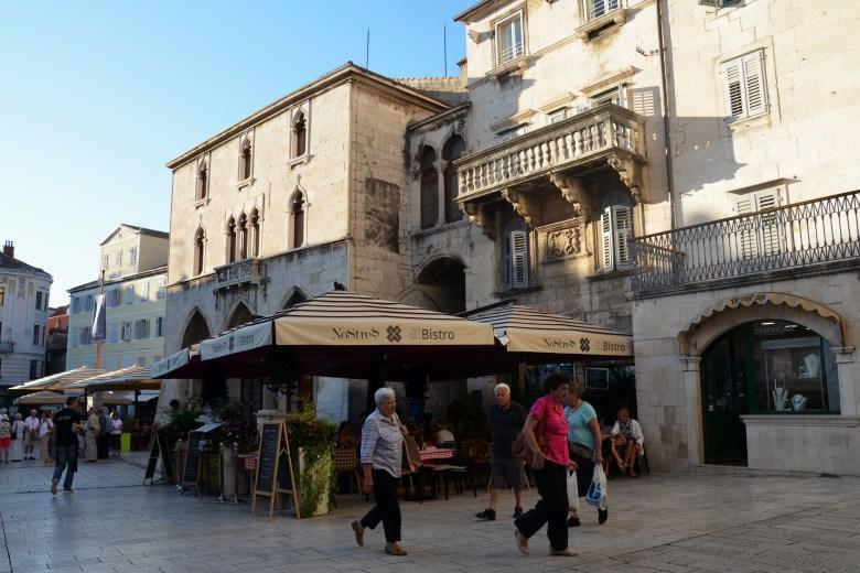 cidade histórica - split - croácia - dalmácia