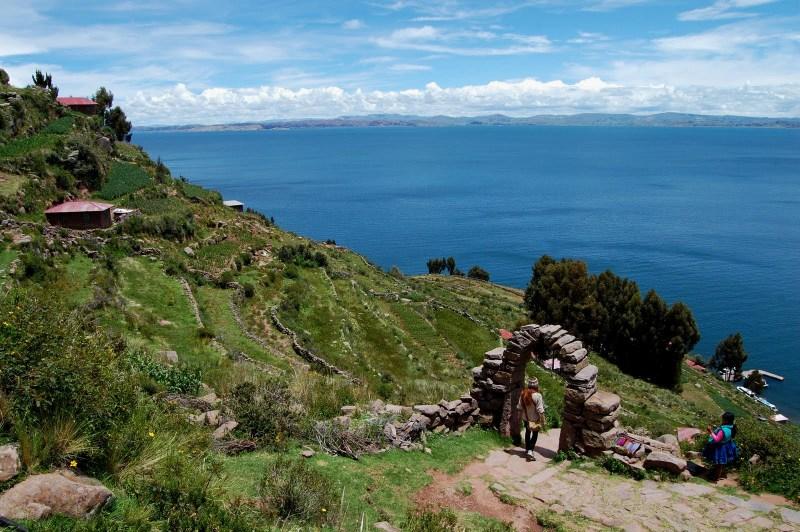 Ilha de Taquile - lago titicaca - peru - turismo