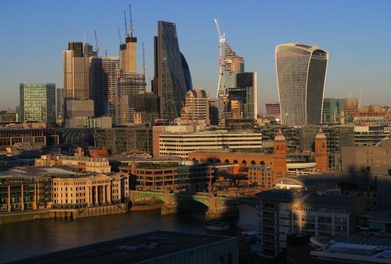 city of london - terraço tate modern - londres - pontos turísticos