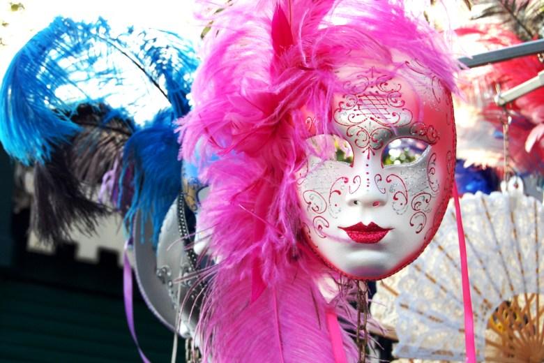 máscaras - carnaval de veneza - itália - turismo