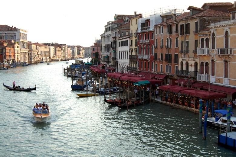 grande canal - veneza - itália - turismo