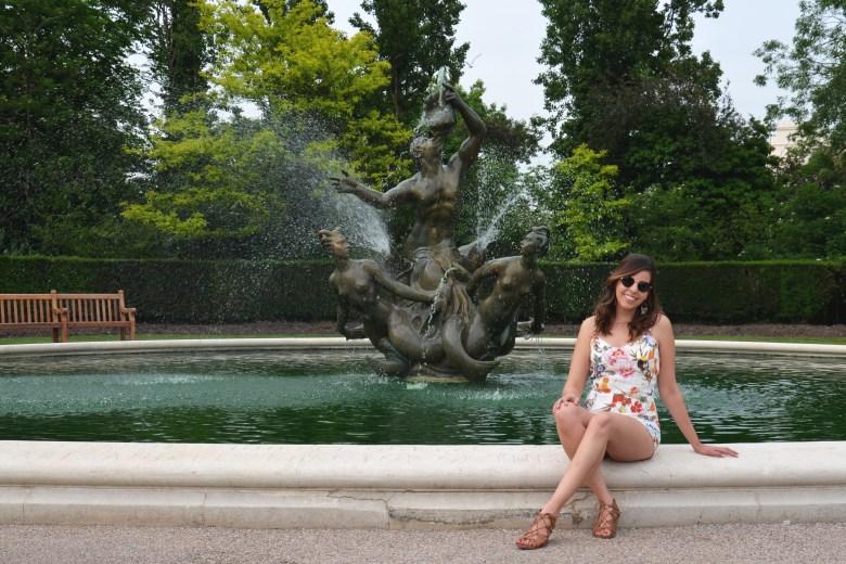 queen mary's gardens - regent's park - parques de londres - turismo