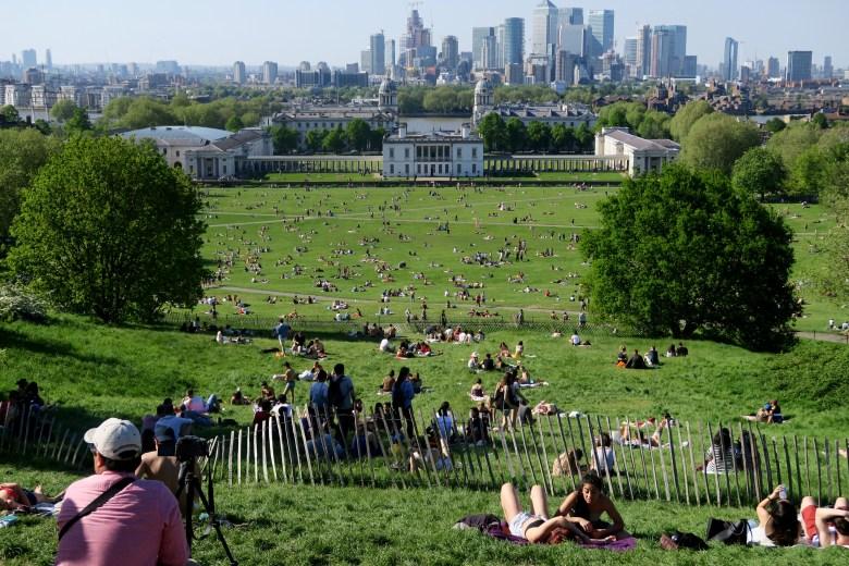 greenwich park - parques de londres - turismo - inglaterra