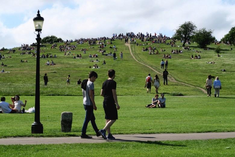 primrose hill - regent's park - parques de londres - turismo