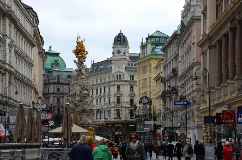 monumentos Pestsäule - ruas comerciais - viena - pontos turisticos