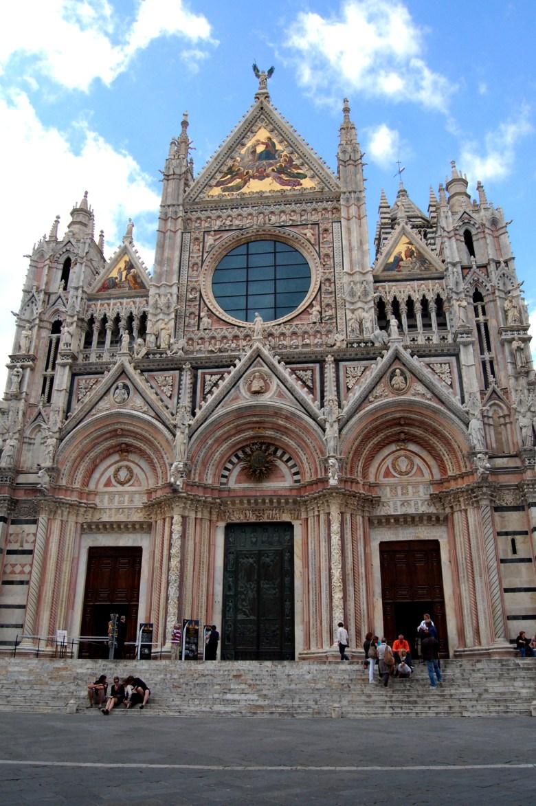 catedral de siena - duomo di siena - pontos turísticso - siena - toscana - itália
