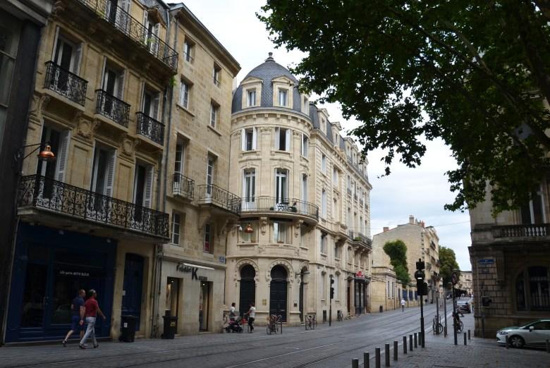 arquitetura neo-clássica- bordeaux - bordéus - turismo - frança