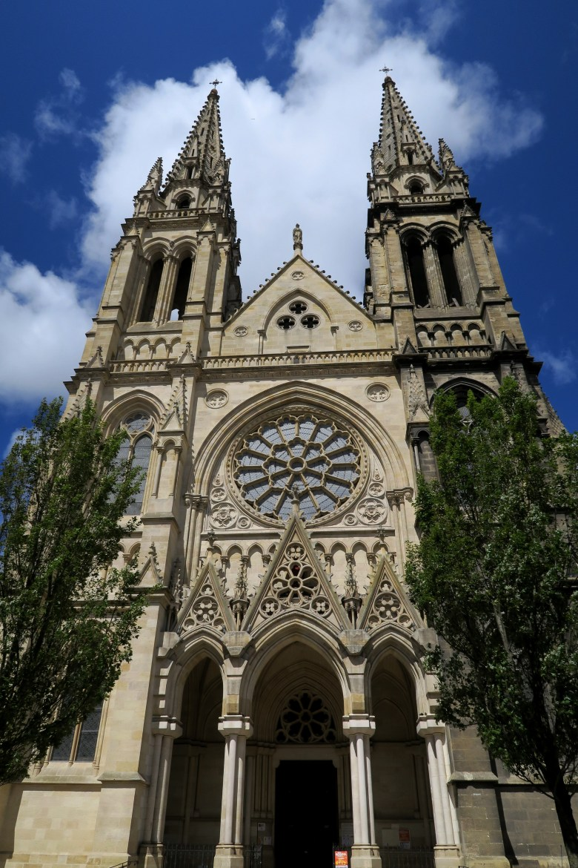 igreja saint louis des chartrons- bordaux- frança - pontos turísticos
