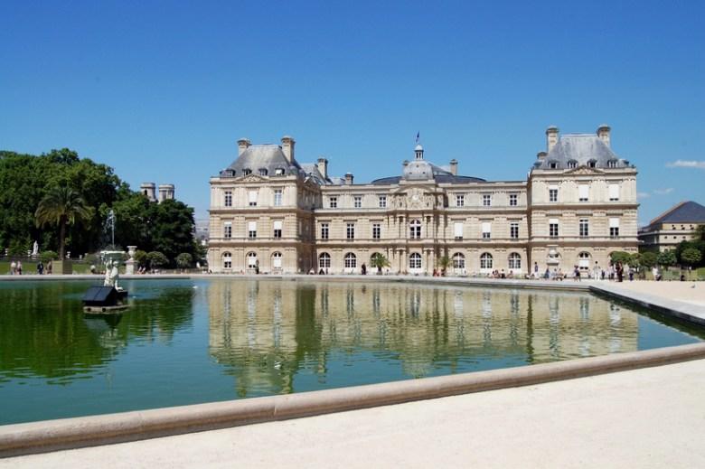 palácio de luxemburgo - paris na primavera - pontos turísticos - frança