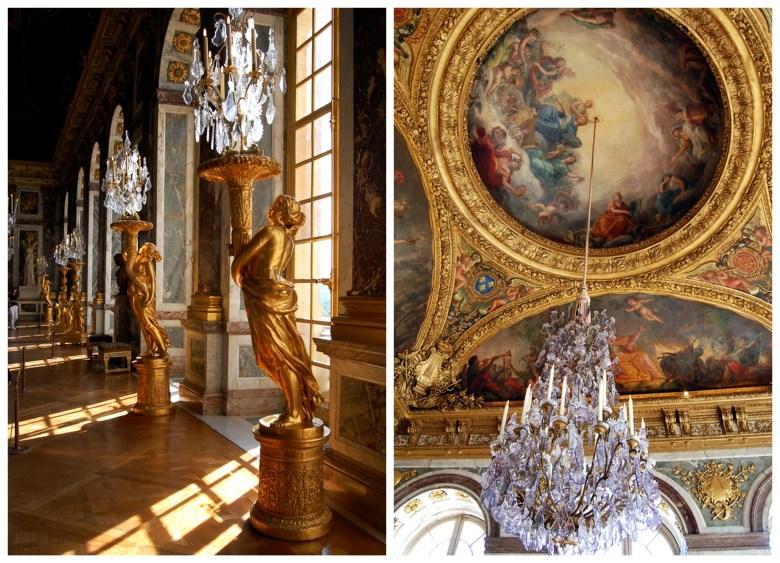 palácio de versalhes - paris na primavera - frança - pontos turísticos