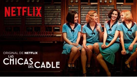 séries em espanhol netflix - chicas del cable