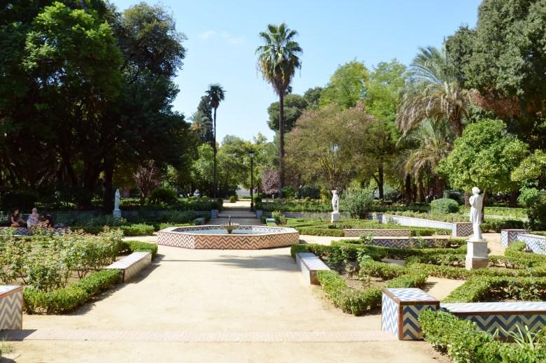 parque maria luisa - sevilha - andaluzia - pontos turísticos