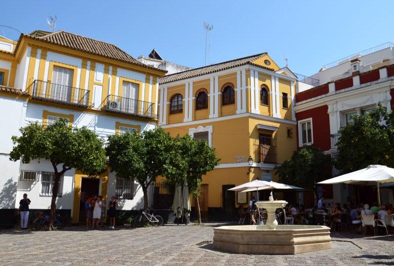 plaza virgen de los reyes - sevilha - pontos turísticos e fotos