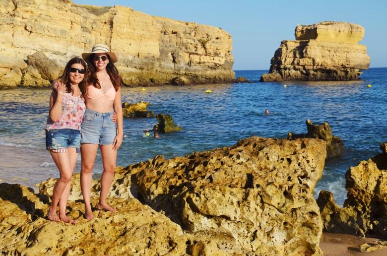 praia de são rafael - as melhores praias do algarve - portugal - turismo