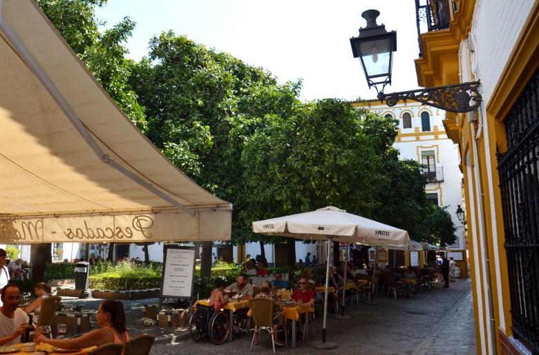 plaza doña elvira - sevilha - pontos turísticos e fotos