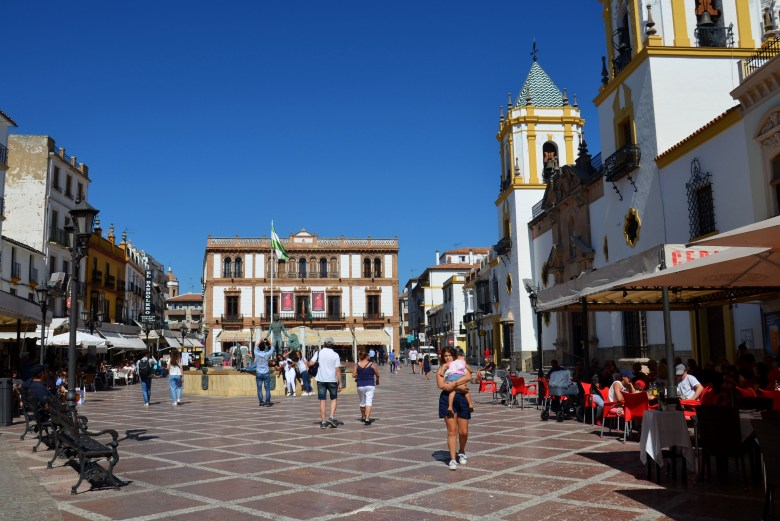 plaza del socorro - o que fazer em ronda - andaluzia - espanha
