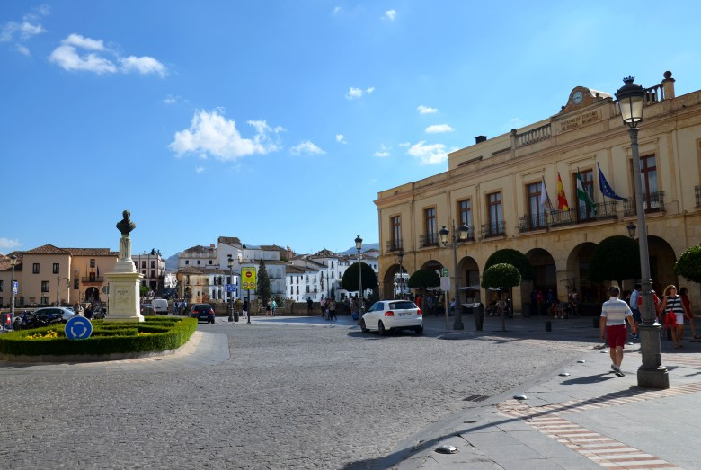 plaza de españa - o que fazer em ronda - andaluzia - espanha