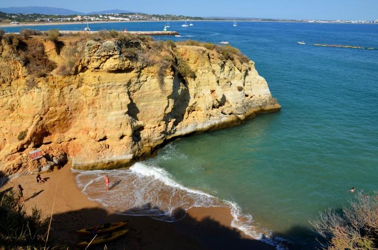 lagos - as melhores praias do algarve - portugal - turismo