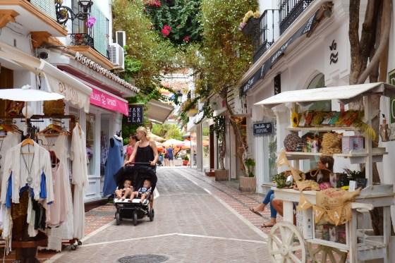 centro histórico de marbella - andaluzia - espanha