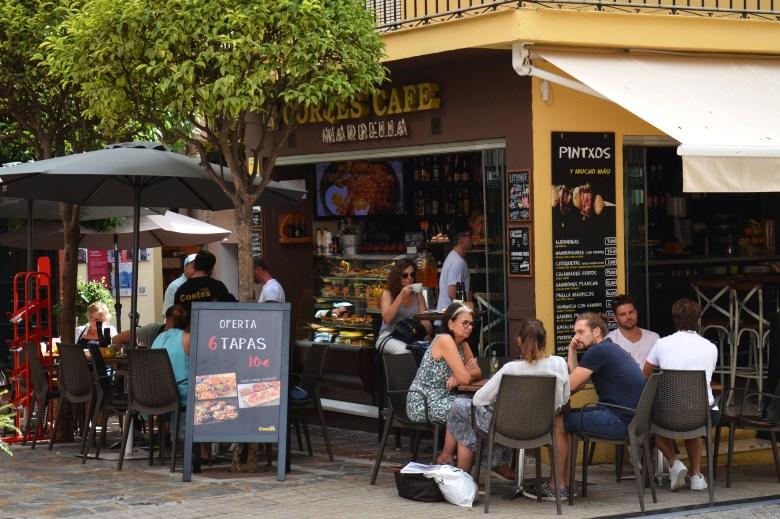 bar de tapas - centro histórico de marbella - andaluzia - espanha - turismo