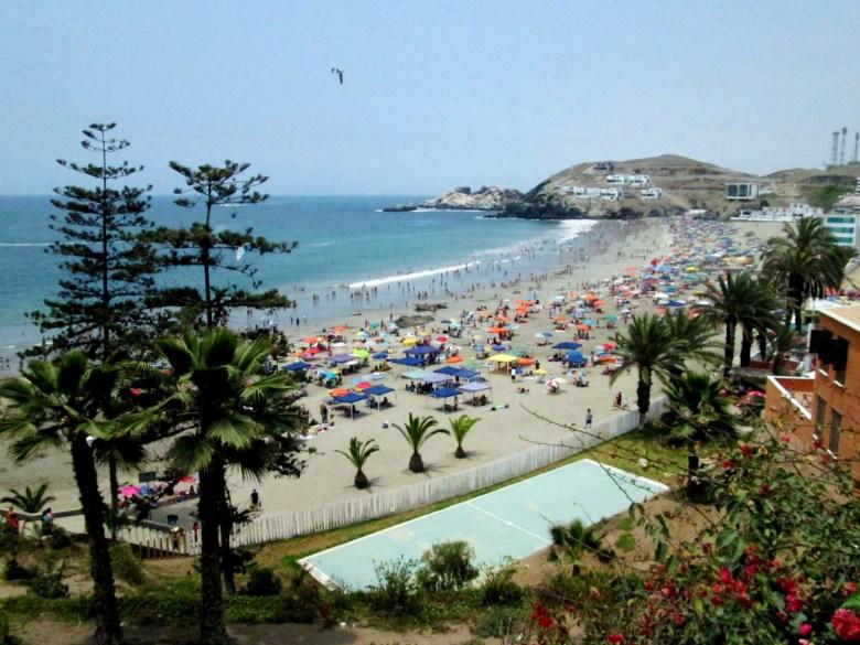 praia santa maria - lima - peru - turismo