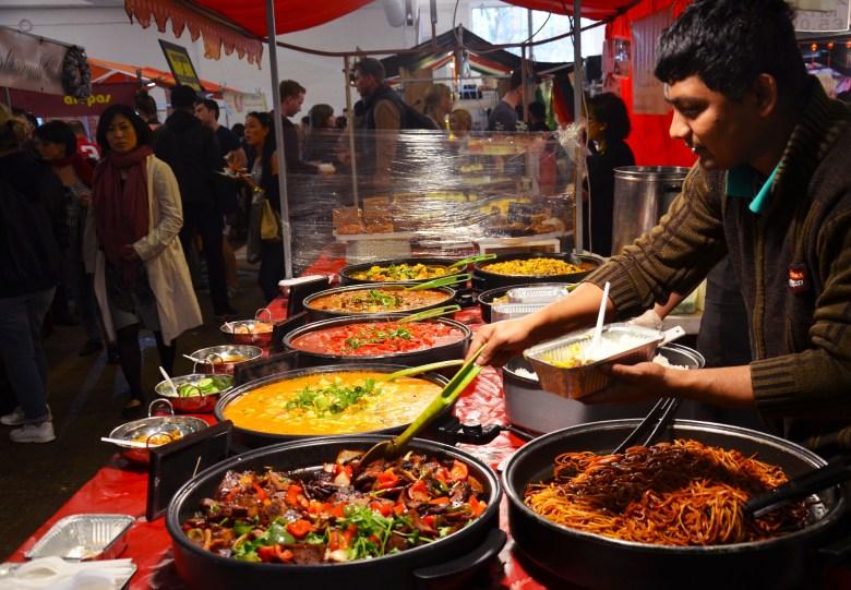 brick lane up market - mercados de comida em londres