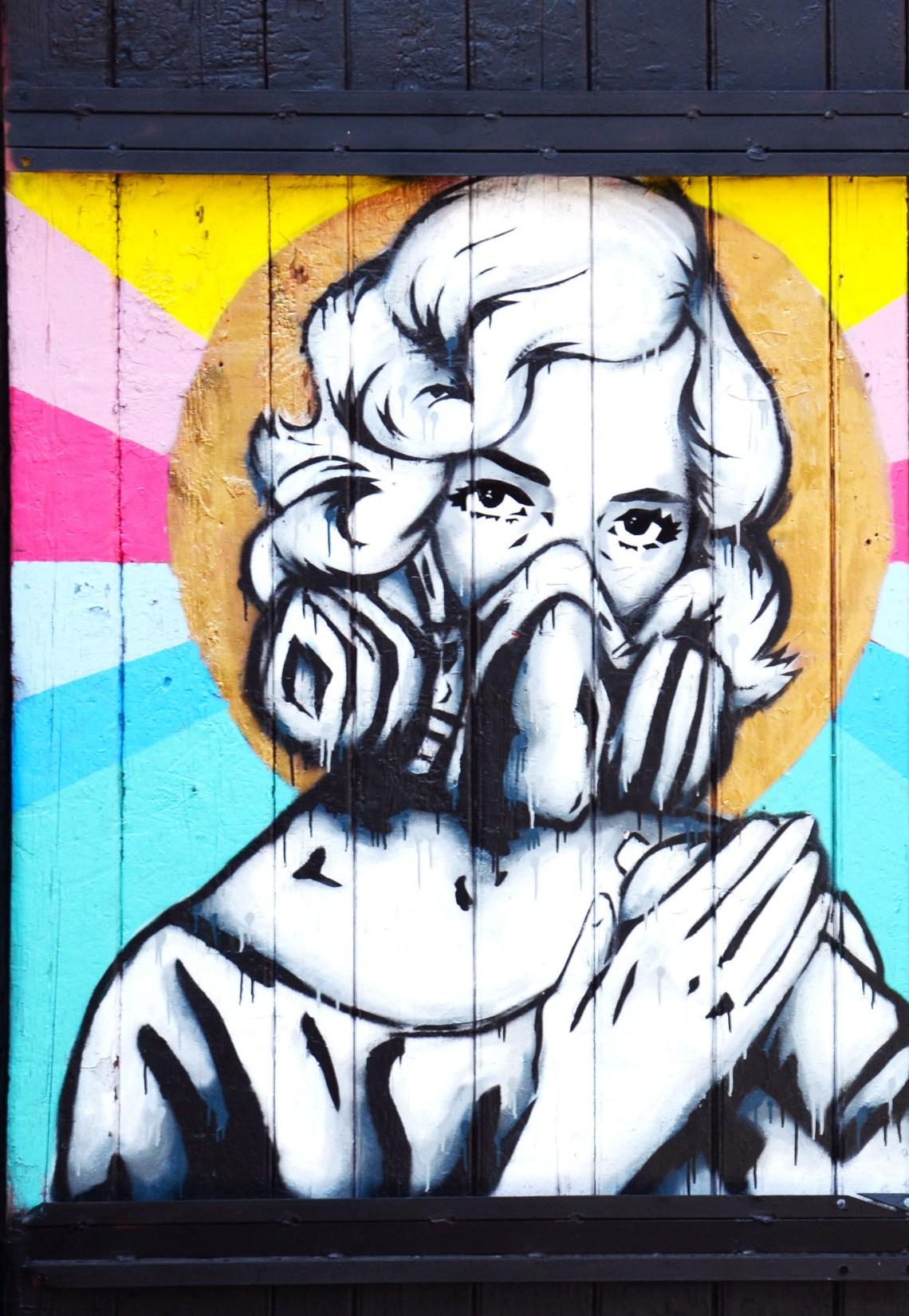 arte de rua - o que fazer em brick lane - londres