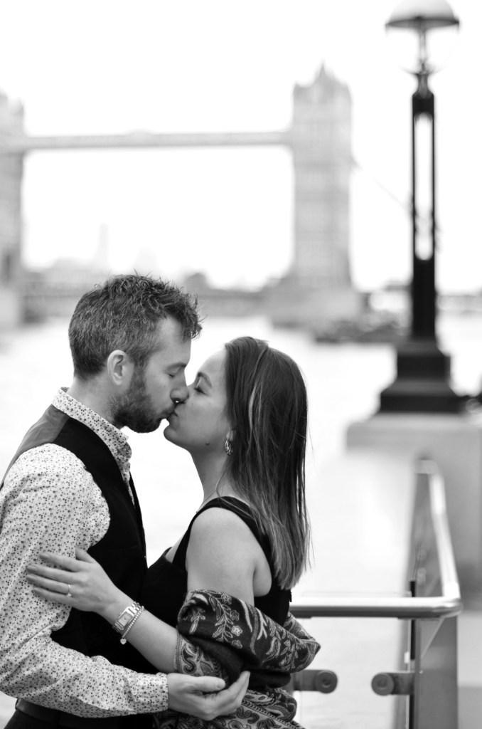 ensaio romantico em Londres - fotos de casal