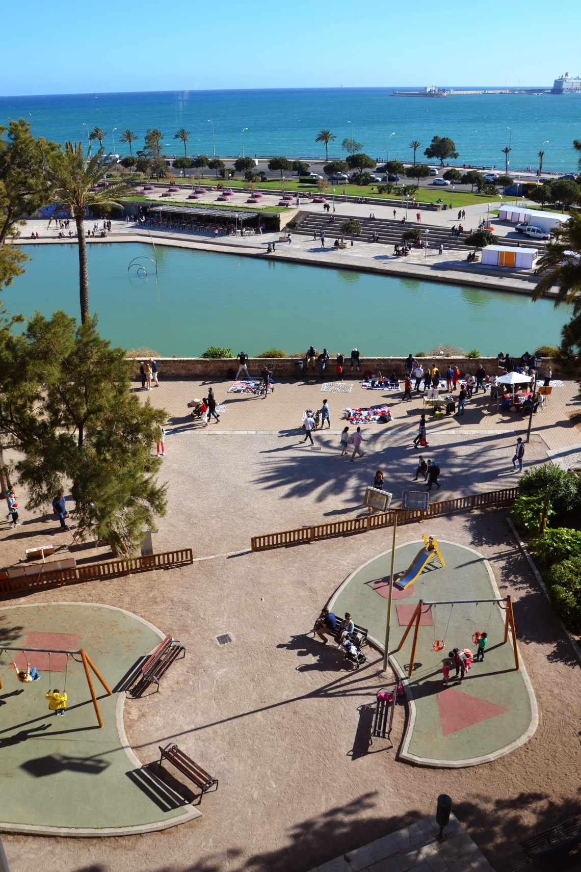 parque del mar - palma de maiorca - turismo