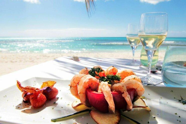 pranzo durante un'escursione in barca privata