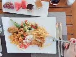 dove soggiornare a Djerba: pranzo de Les jardins de Toumana
