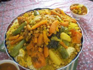 piatti tipici della cucina tunisina: couscous