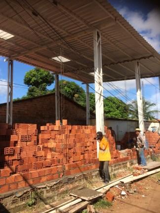 Bricks arrive!
