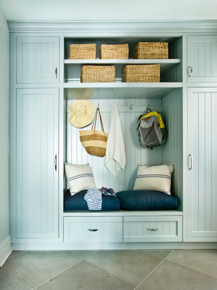 Beach Style Mudroom