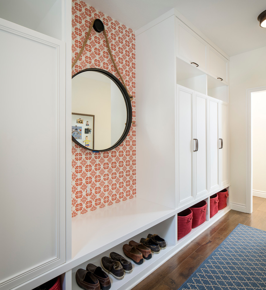 Transitional Mudroom